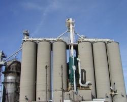 Dust Control on Grain Receiving
